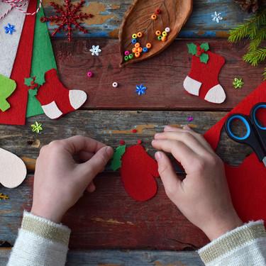 17 manualidades de Navidad fáciles y bonitas para hacer con los más peques