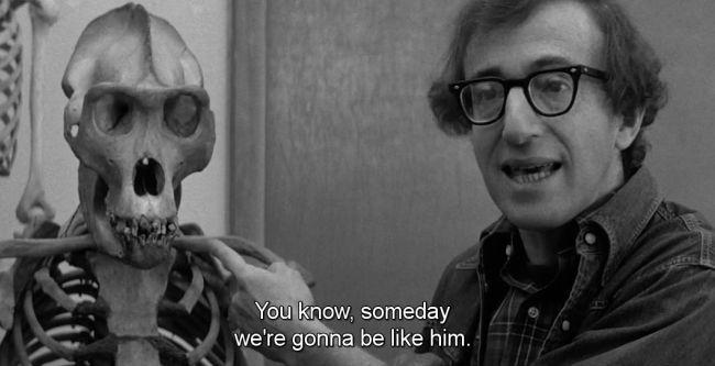 Woody Allen en una escena de Manhattan