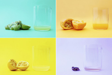 ¿Cuánto zumo contiene cada fruta? Descúbrelo con esta serie de fotografías