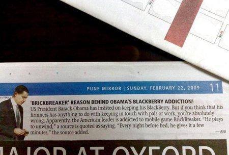 El FBI y la Agencia de Seguridad Nacional más cerca de convencer a Obama, la BlackBerry no es de fiar