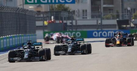 Hamilton Rusia F1 2020