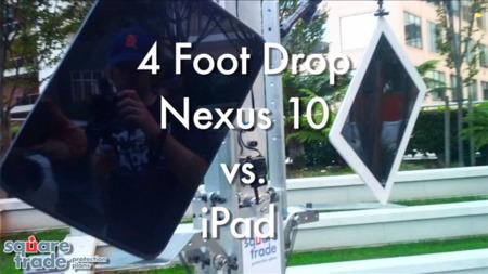 Comparan la resistencia ante caídas del Nexus 4, 7 y 10 con el iPhone 5, iPad Mini y iPad 4