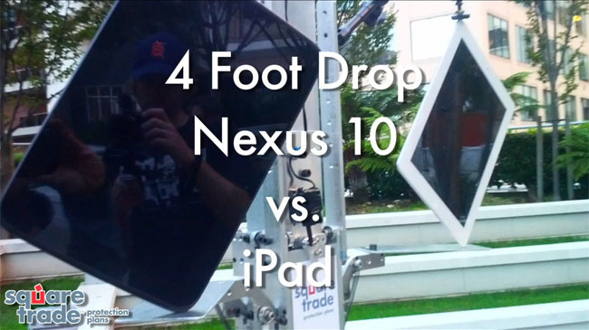 Comparativa de resistencia del Nexus 4, 7 y 10 frente al iPhone 5, iPad Mini y iPad 4