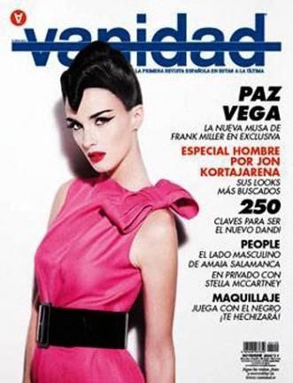 Paz Vega en la revista Vanidad