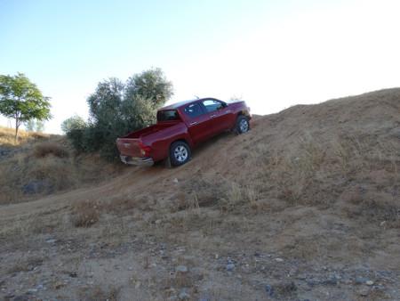 Subida Prueba Toyota Hilux Exteriores Campo