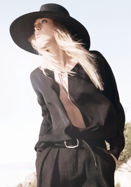 La primavera llega a Zara Woman de la mano de Raquel Zimmermann