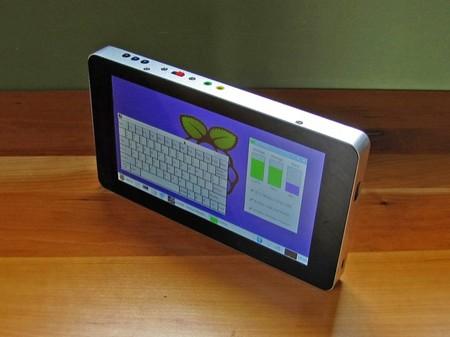 Tablet creada con una Raspberry Pi 3, nada mal, verdad?