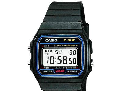 Reloj vintage Casio F-91W por 9 euros en Amazon