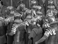 Cántabros y romanos se enfrentan en Los Corrales de Buelna