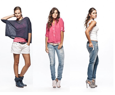Salsa Primavera-Verano 2012: entre colores y denim anda la moda