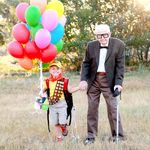 La tierna sesión de fotos de un niño y su bisabuelo inspirada en la película 'Up'