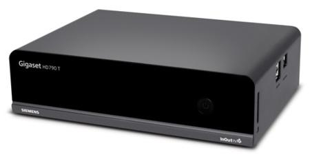 Gigaset HD790 T, disco duro que por fin llega con TDT HD