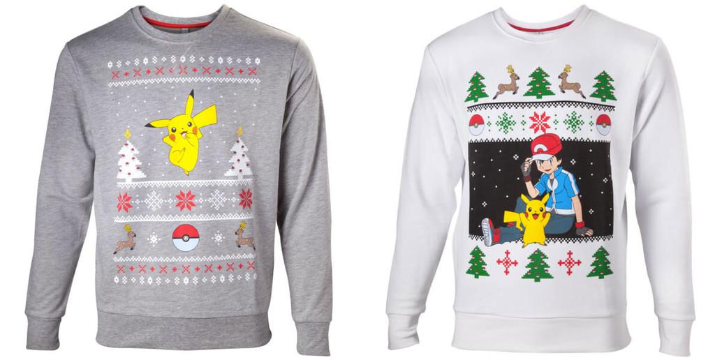 Jerseys navideños Pokémon