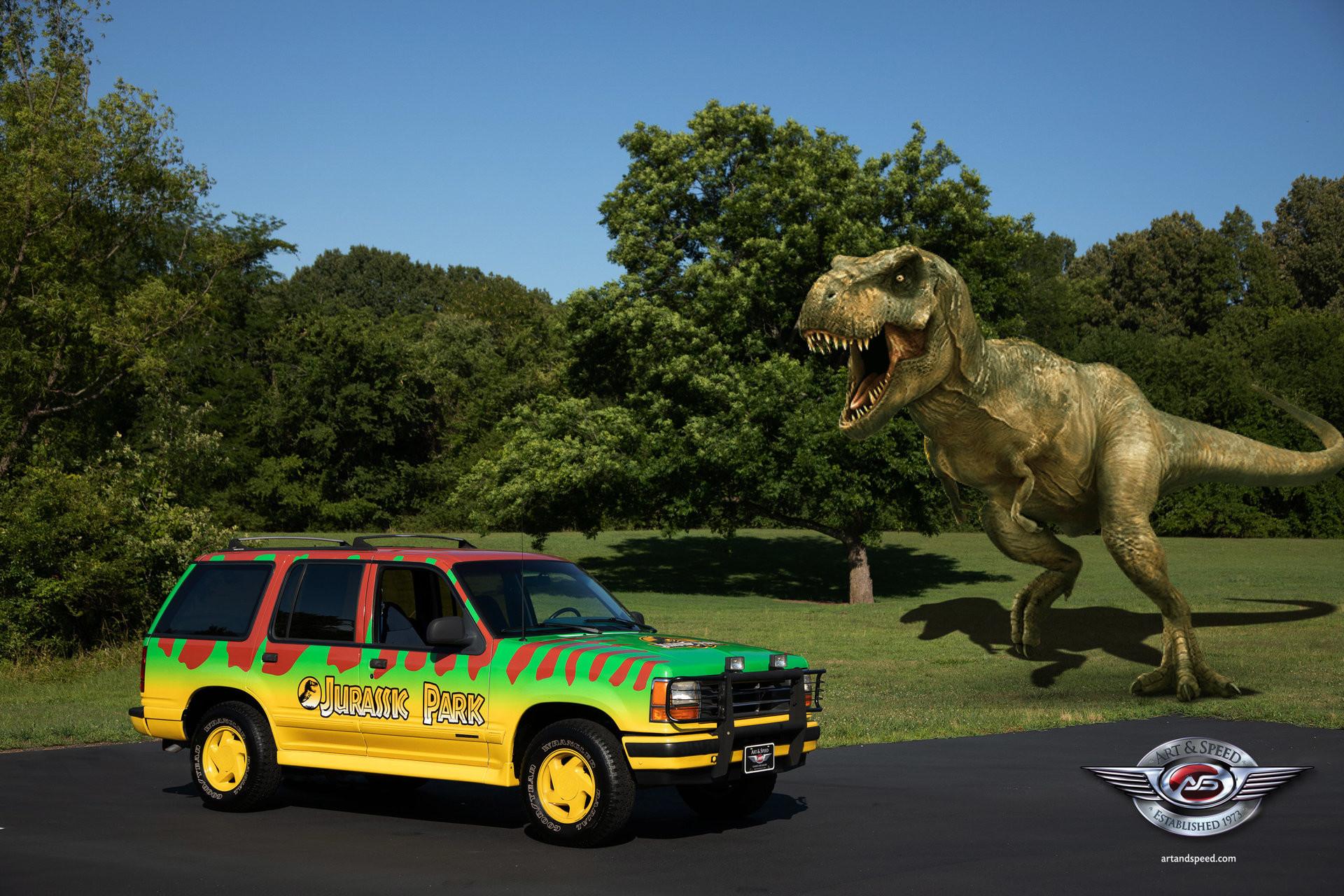 Foto de Ford Explorer 1993 Jurassic Park (5/10)