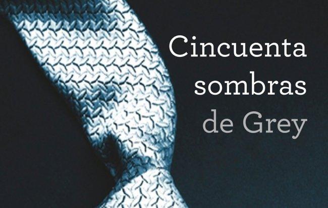 Imagen con el cartel de '50 sombras de Grey'