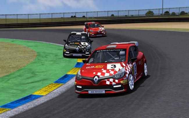 Renault Clio Cup On Line