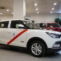 Los taxistas de Madrid ya tienen otra opción asequible y poco contaminante, el SsangYong XLV G16
