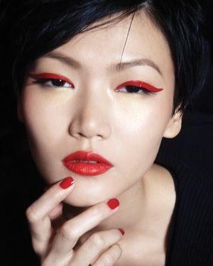 Eyeliner Rojo 8