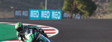 Remy Gardner es estrena en Moto2 y Enea Bastianini canta el alirón en Portimao