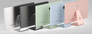 Diseño plano y colores que evocan al iMac original: así ve Prosser los nuevos iMac 2021
