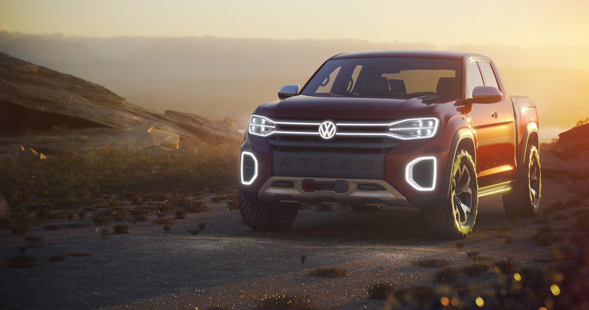 Foto de Volkswagen Atlas Tanoak Concept (1/6)