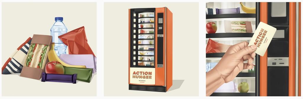 Action Hunger Vending Machine