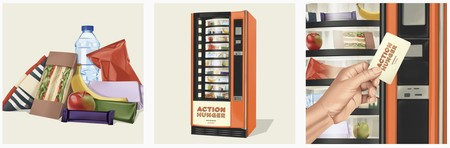 Action Hunger Vending Machine