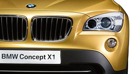 BMW X1 Concept, las fotos oficiales y los datos