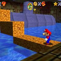 Super Mario 64: cómo conseguir la estrella Board Bowser's Sub de Dire, Dire Docks