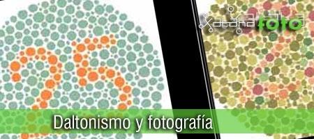 Daltónicos y la fotografía