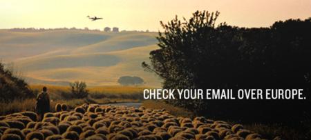 chequea tu email desde el avión