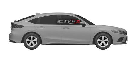 Honda Civic 2022 Fotos Filtradas 4