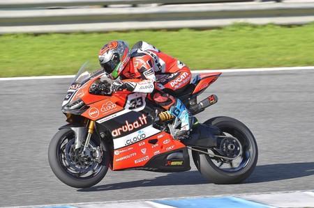 Marco Melandri Jerez Test Sbk 2016