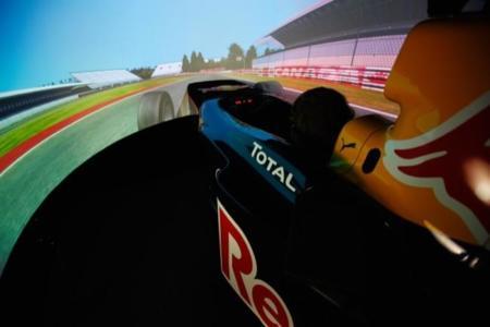 Simulador De F1 De Red Bull