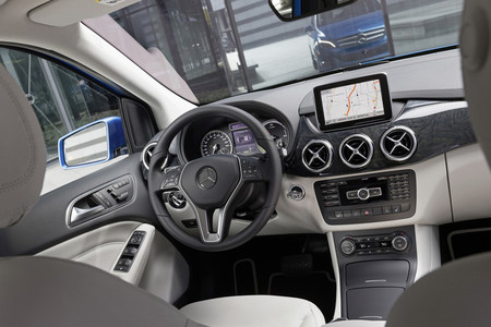 Mercedes Clase B Electric Drive, vista interior