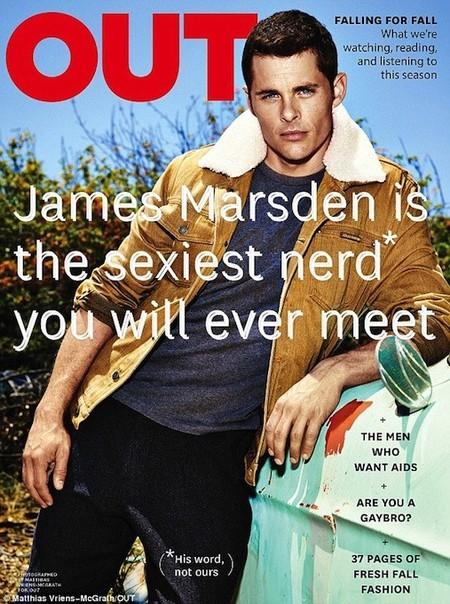James Marsden es el nerd más sexy que nunca te echarás a la cara, que lo sepas