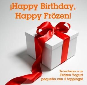Si estás de cumpleaños, en Ö!mygood tienes un helado gratis