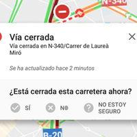 Google Maps facilita que avises a otros conductores de incidencias en la carretera, al estilo Waze