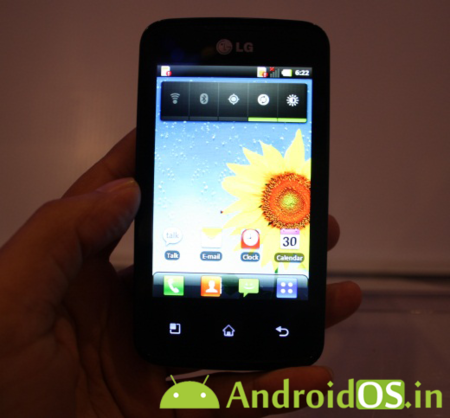 LG E510F Univa. ¿LG Optimus Two?