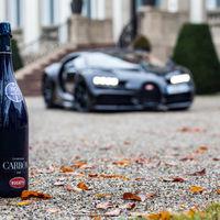 Champagne Carbon ƎB.01, con esta botella celebrará Bugatti su 110 aniversario