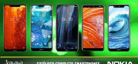 Catálogo móviles Nokia diciembre 2018