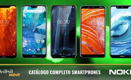 Nokia 8.1, así encaja dentro del catálogo completo de móviles Nokia en 2018