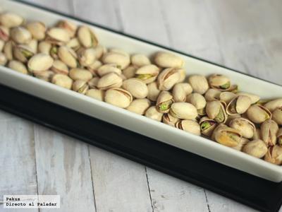 Descubrimos las propiedades de los pistachos en un menú diseñado por Darío Barrio