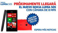 Nokia Lumia 505, un nuevo Windows Phone exclusivo para México