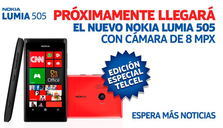 Nokia Lumia 505, un nuevo Windows Phone exclusivo para México