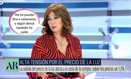 Ana Rosa Quintana desvela cuántos kilos ha engordado tras sus macro-vacaciones y así es como piensa perderlos