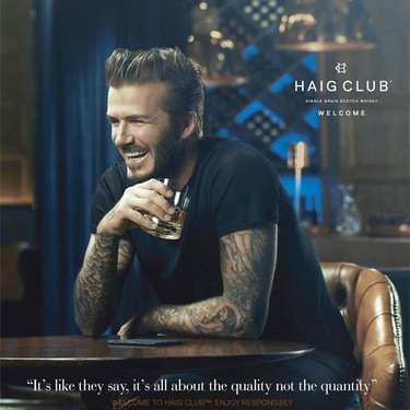 Guy Ritchie, ex de Madonna, dirige a David Beckham y a Simon Fuller en un fashion film para el whisky Haig Club