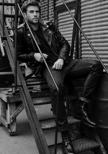 "Liam Hemsworth será imagen del perfume de Diesel ""Only the Brave"""