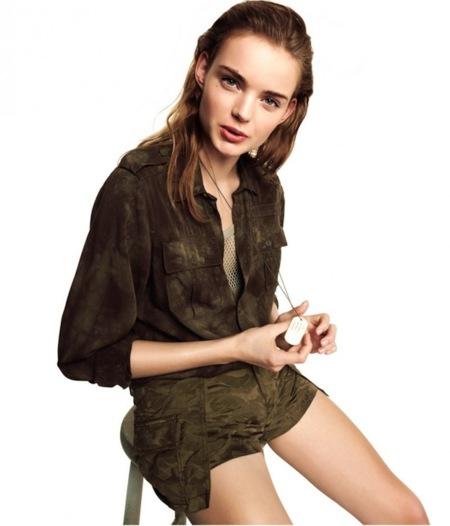 H&M Divided nos propone una Primavera 2013 de lo más guerrera