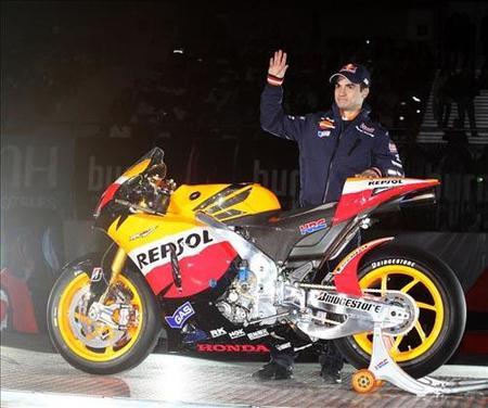 Presentación Repsol Honda Dani Pedrosa